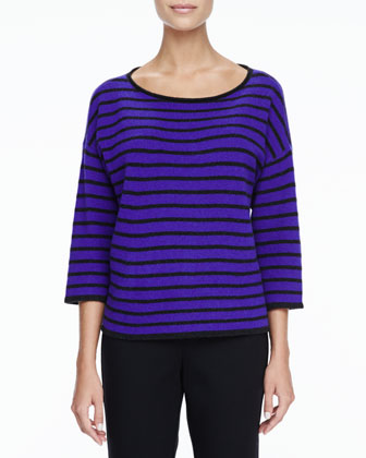 Super-Soft Yak & Merino Boxy Top