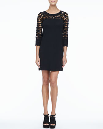 Kariana Wool Crochet Dress