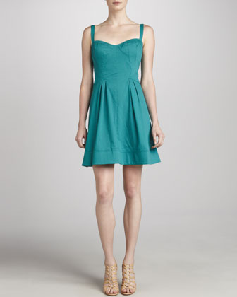Z Spoke Zac Posen Sweetheart Party Dress