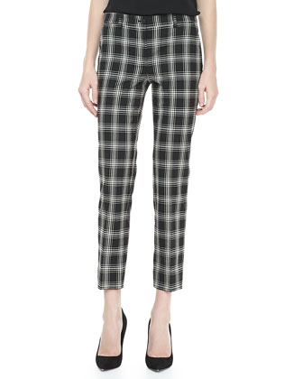 Taos Plaid Samantha Skinny Pants