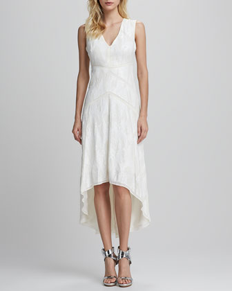 Salma High-Low Lace Dress