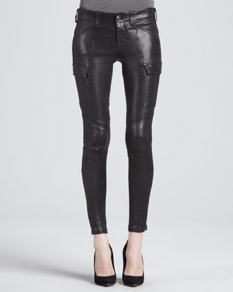 Houlihan Leather Skinny Pants