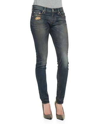 Arsenal Distressed Skinny Jeans