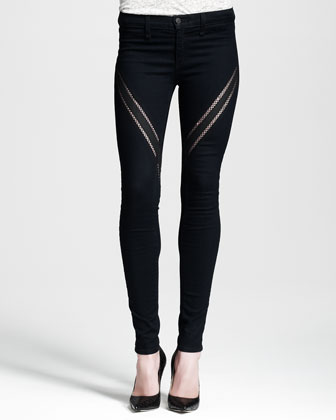 Ribbon Midnight Legging Jeans