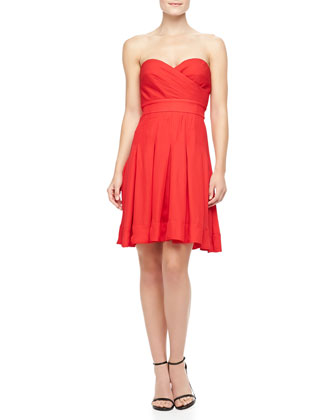 Benita Strapless Sweetheart Dress