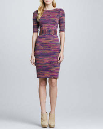 Monarch Printed Knit Dress