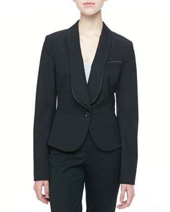 Shae One-Button Jacket