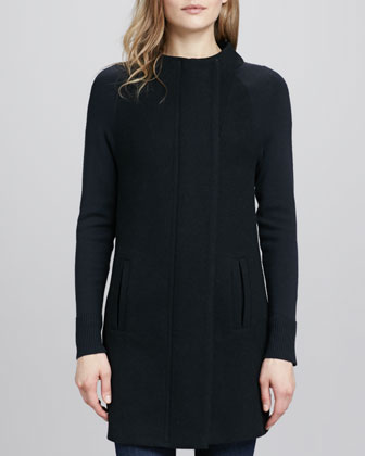 Moli Long-Sleeve Knit Jacket