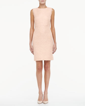 della tweed sheath dress