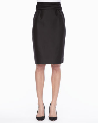 niko high-waisted pencil skirt
