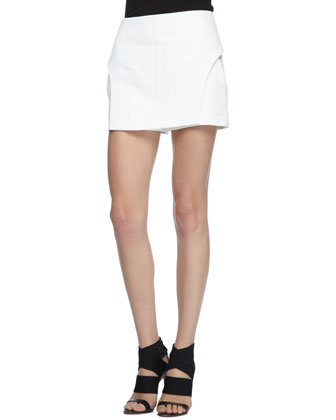 Linen/Cotton Twill Skort