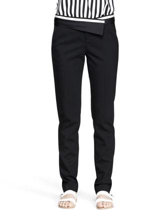 Guy Asymmetric-Waist Pants