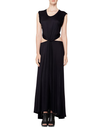 Alejandro Open-Waist Dress
