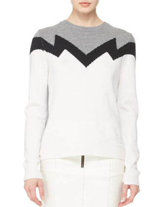 Daniel Zigzag Knit Sweater
