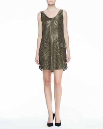 Tilly Sequined Tank Dress