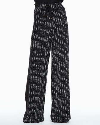 Kenzie Printed Drawstring Pants