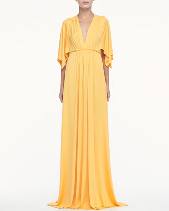 Jersey Long Caftan Dress