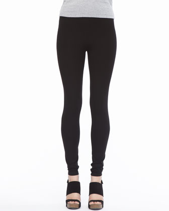 Viscose Jersey Leggings, Women's
