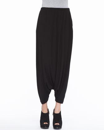 Lightweight Jersey Harem Pants