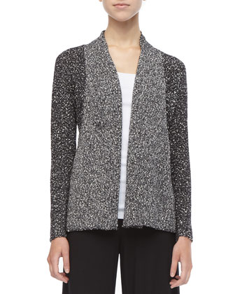 Versatile Nubby-Cotton Cardigan