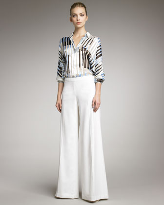 Lightweight Wide-Leg Pants