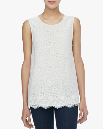 Sorisa Sleeveless Lace Top
