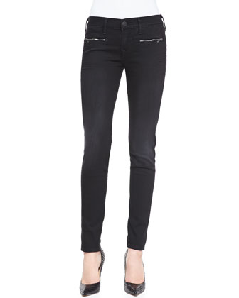 Edie Blackwell Zip-Pocket Jeans