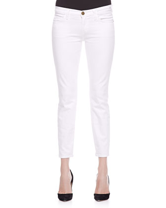 The Picnic Voile Top & The Stiletto Slim Jeans