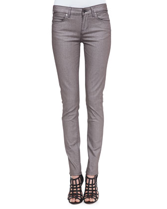 The Skinny Metallic Jeans