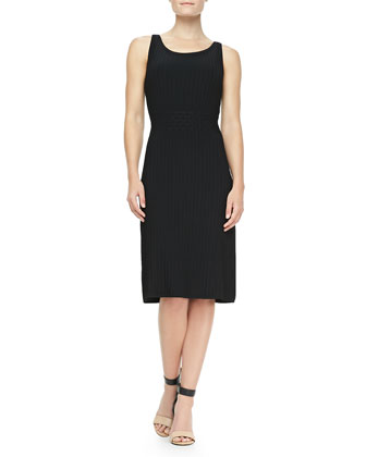 Klara Textured Knit Dress