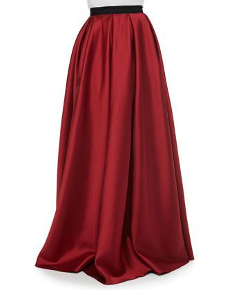 Satin Pocket Ball Skirt