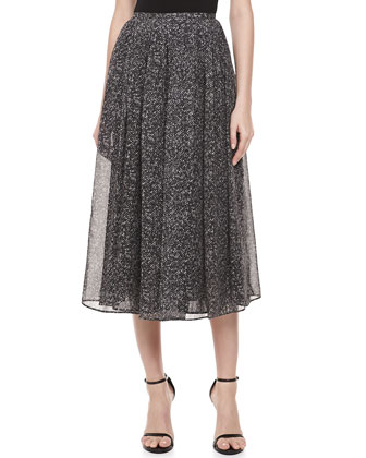 Herringbone Chiffon Dance Skirt