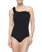 Rosette-Trim One-Piece