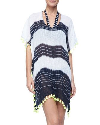 Cable Kaftan Cover Up