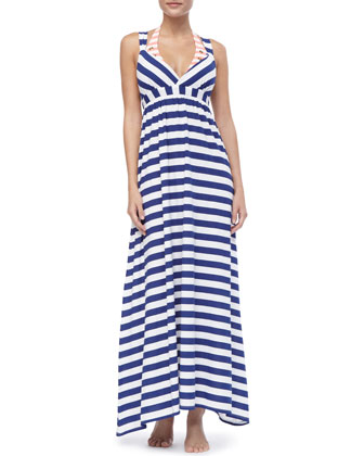 Utopia Striped Cotton Dress