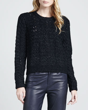 Hester Knit Merino-Blend Sweater