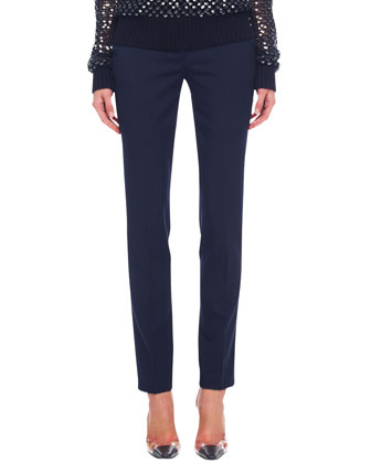 Samantha Slim Pants, Midnight