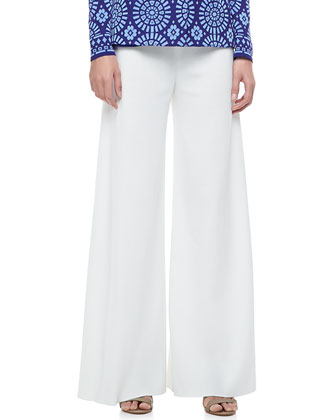 Isadora One-Button Jacket, Tank & Palazzo Pants