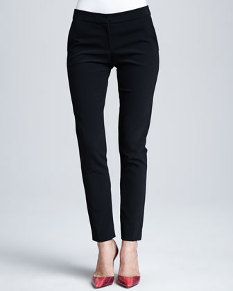 Clean-Front Narrow Pants