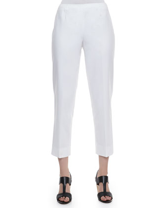 Metro Stretch Cropped Bleecker Pants