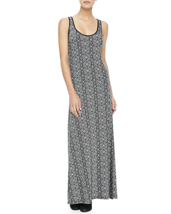 Winns Circle-Print Maxi Dress