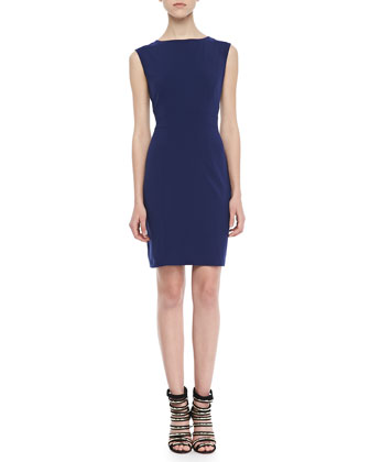 Rosa Cap-Sleeve Shift Dress