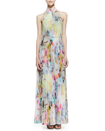 Hecuba Electric Day Dream Maxi Dress