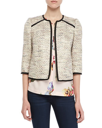 Yomoi Tweed Zip Jacket