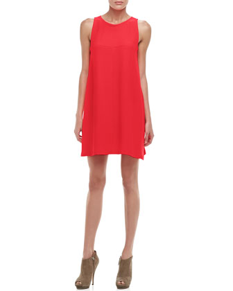 Lysette Sleeveless Trapeze Dress