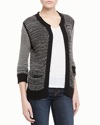 Kate Multi-Knit Cardigan
