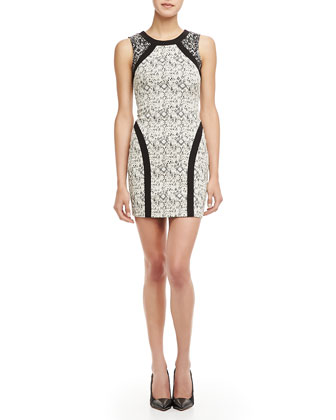 Jagger Fitted Printed Dress