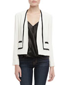 Liam Two-Tone Open Jacket