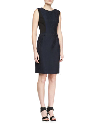 Holly Lace Jacquard Dress