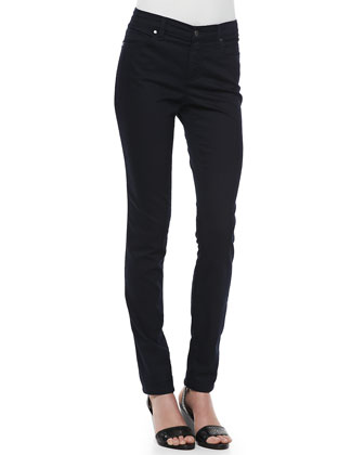 Stretchy Jean Leggings, Petite